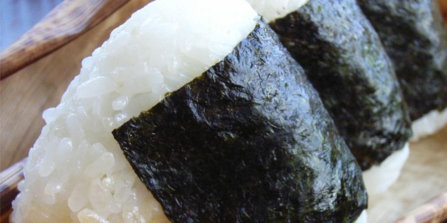 冷めても美味しい水車米はおにぎりやお弁当には最高です。